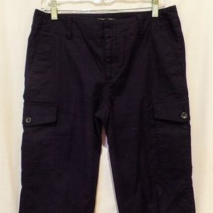 Banana Republic Black Cargo Capris - size 6